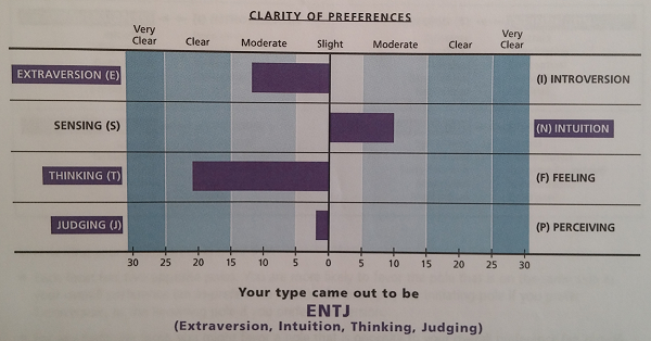 Myers Briggs Results